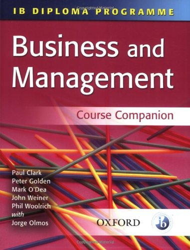 Business and Management (Ib Diploma Course Companion)