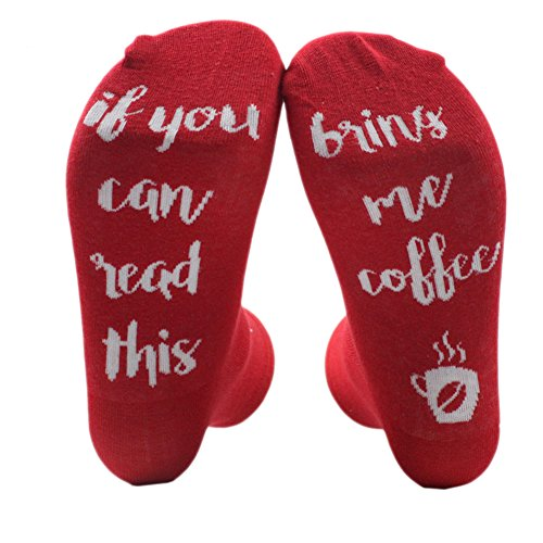 Moresave Wine Beer Coffee Stocking If You Can Read This Me Bring A Little Wine Sock Funny Socks