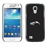 Stuss Case / Funda Carcasa protectora - Gafas 3D - Samsung Galaxy S4 Mini i9190