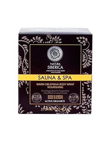 NATURA SIBERICA Pflegende und festigende Körper - Basierend auf Seabuckthorn (Oblepikha), organische Extrakte aus Taiga Kräuter und Beeren, Koffein - 370 ml -