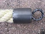 Seilendkappe schmiedeeisen mit Ring für 30 mm Handlaufseil (Handlauf- / Absperrseile)