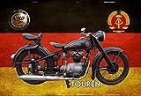 Schatzmix Simson AWO Touren DDR Motorrad blechschild