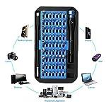 JVMAC-Kit-Cacciaviti-di-Precisione-Professionali-Tool-Kit-Giravite-Torx-Set-Cacciaviti-Magnetico-Attrezzi-per-PC-Occhiali-iPhone-Cellulari-e-Notebook-Set-Cacciaviti-Precisione-76-in-1