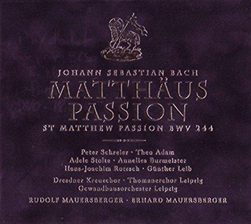 Matthäus-Passion/Mauersberger