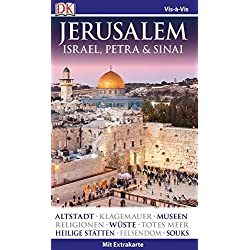Vis-à-Vis Reiseführer Jerusalem. Israel, Petra & Sinai: mit Extrakarte & Mini-Kochbuch Autovermietung Israel