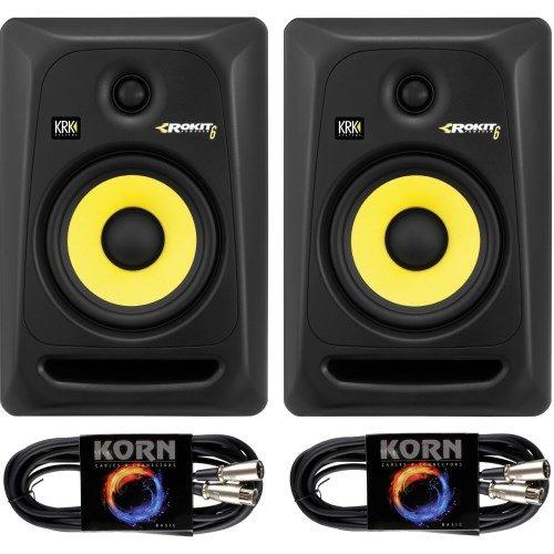 KRK RP6 ROKIT G3 Plug & Play 5 m Kabel Set