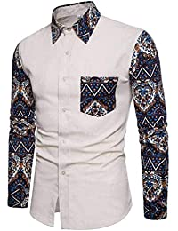 Herren Hemden Langsarm Männer Nner Hemd Anzug Troyer Fit Slim Business  Hochzeit Freizeit Langarm Shirt Männer 2f0d8b7984