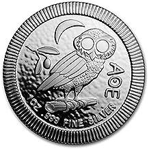 niue 2018 athenian Owl 1 OZ (G.) Nueva Zelanda Mint Plata 999 Silver