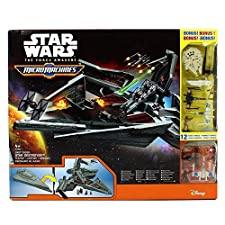 Hasbro B4080 - Disney Star Wars Toy - Micro Machines Star Destroyer Playset -12 Bonus Vehicles - Figures