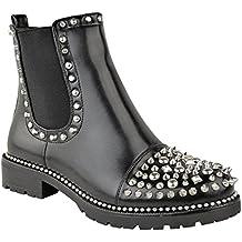 new york f2504 648b7 Suchergebnis auf Amazon.de für: Schwarze Nieten Boots,
