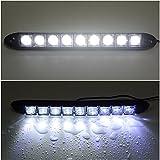 Zantec 2 stücke 9 LED Auto Fahrzeuge Tagfahrlicht DRL Kit Nebelscheinwerfer Tag Fahren Tageslicht