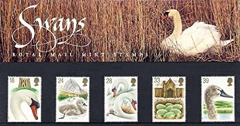 1993 Swans - 600th Anniversary of Abbotsbury Swannery Presentation Pack PP203 (printed no. 234) - Royal Mail Stamps