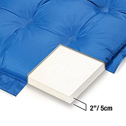 Active Era Self-Inflating Camping Pad with Pillow and Air Pockets | Lightweight and Comfortable Foam Sleeping Pad 9
