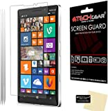 [Pack of 3] TECHGEAR® Nokia Lumia 930 ULTRA CLEAR LCD Screen Protector Guard Covers with Cleaning Cloth & Application Card