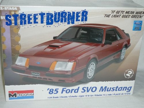 Revell Ford Mustang 1985 SVO Coupe Rot 85-4276 Bausatz Kit 1/24 Usa Modellauto Modell Auto (Modell-auto-kits Ford Mustang)