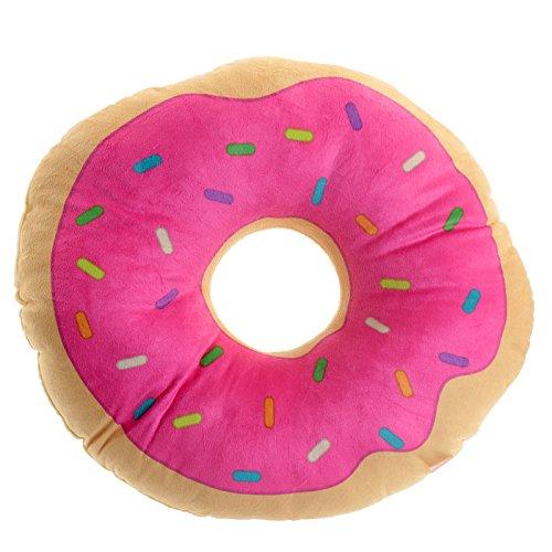 Cuscino fast food a forma di ciambella donut