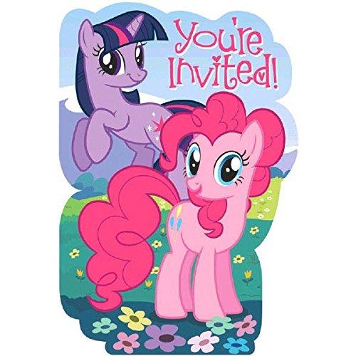 Amscan My Little Pony Party Einladungen