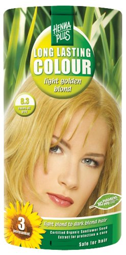 Golden Blonde (Hennaplus 49134 Long Lasting Colour 8,3 Light Golden Blond)