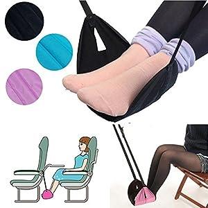 bureze tragbar Reise Beinen Foot Rest Kissen Hängematte Fußstütze hilft Kissen