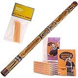 Meinl Didgeridoo + Nylon Hoes SDDG1-BK, lengte 130cm, zwart + 5 CD-box