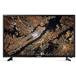 "Sharp LC-40FG3242E Aquos TV da 40"" Full HD con Sistema Audio Harman Kardon, Nero"