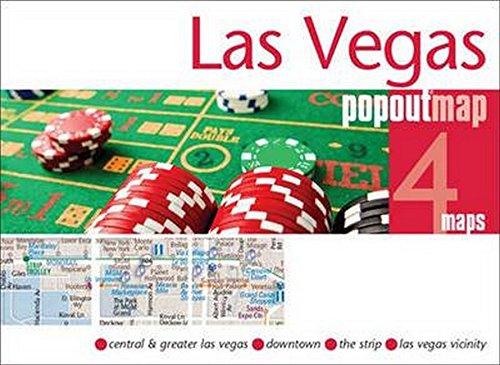 Las Vegas Popout Double Map: Handy Pocket Size Pop Up City Map of Las Vegas (PopOut Maps)