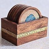 Round Wooden Coasters