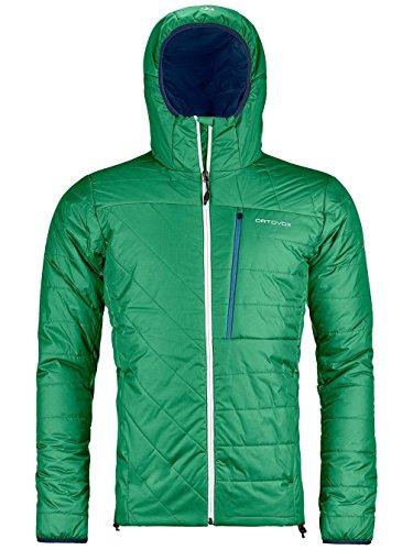 Ortovox Herren Swisswool Piz Bianco Jacke, Irish Green, XL