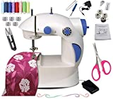 Vivir Mini Sewing Machine for Home with Focus Light and Sewing Accessories