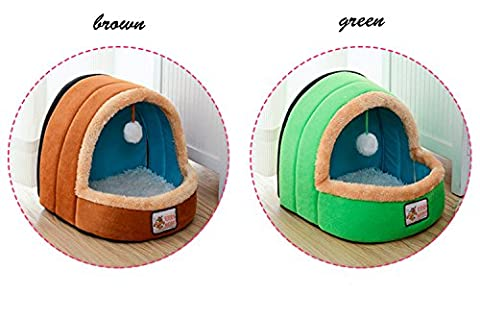 Midmade Pet House Cute Soft Dog Bed Washable Puppy Cat Cushion Mat Cotton Bed Nest Cave