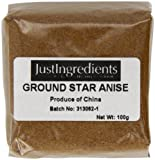 JustIngredients Essential Sternanis gemahlen, Star Anise Ground, 5er Pack (5 x 100 g)