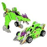 elettrico universale deformazione Chariot, Mamum Electric omnidirezionale deformazione Dinosaur Chariot con musica luce giocattoli regalo