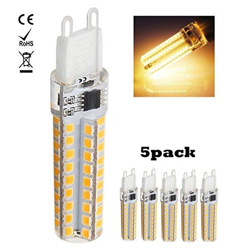 1819®5-Packs 220V-240V 5W G9 LED-Glühlampe kühles Weiß 6000K Warm Weiß 3000K LED-Birnen für Nähmaschine / Appliance-Lampen (Warm Weiß) (Glühlampe Appliance Lampe)