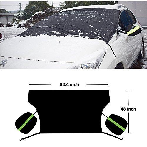 HONCENMAX-Copertura-Parabrezza-per-Auto-Protegge-la-Macchina-da-Sun-Frost-Snow-Ice-Impermeabile-Antivento-Antipolvere-Per-la-Maggior-per-SUV-camion-furgone