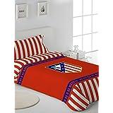 Atlético de Madrid Stadium - Juego de funda nórdica, 3 piezas, para cama de 105 cm