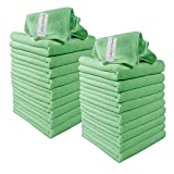 Best Green Cleanings - Microfibre Cleaning Cloths, 20 Pack, Green, Soft Microfibre Review