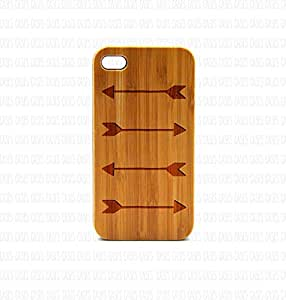 Krezy Case Real Wood iPhone 5 Case, Arrow iPhone 5 Case, Wood iPhone 5 Case, Wood iPhone Case