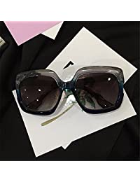 TYJshop Gafas De Sol Hombre Lady Drive Avantgarde Gafas Cuadradas,Gris