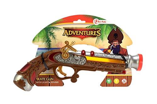 Piraten Wasser Pistole - Toi-Toys-Pirat L/S Exclusive Batterien Pistolen und