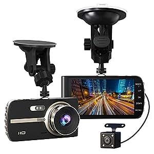 gtopin auto kamera 1080p full hd dashcam vorne und amazon. Black Bedroom Furniture Sets. Home Design Ideas