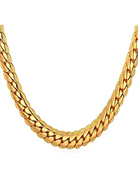 Bodya 18K vergoldete Halskette mit