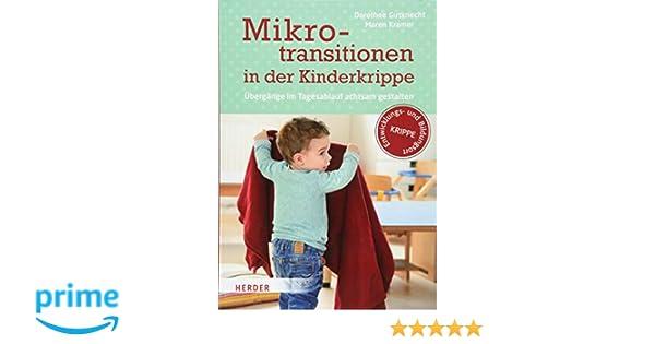 Mikrotransitionen In Der Kinderkrippe übergänge Im Tagesablauf