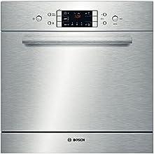 Bosch SCE52M65EU Bajo encimera 8espacios A+ lavavajilla - Lavavajillas (Bajo encimera, Acero inoxidable, Acero inoxidable, Botones, LED, Auto 45-65 ºC, Economía, Vidrio/Delicado, Intensivo, Rápido)