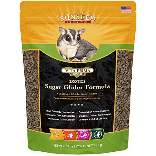 Sun Seed Company sss20060Quiko Sugar Glider Food, 28-Ounce -