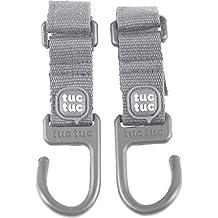 Tuc Tuc - Colgadores para bolsa de maternidad, color gris