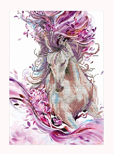 Diy 5D Full Drill Diamond Painting Full Drill Hot Sale/Challen Dream Animal Art Paintings Rhinestone Pasted Three Women Cross Stitch Diy Wall Craft Pattern For Home Wall Decoration Diamond Painting Kit (A)