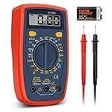 Digital Multimeter, GOCHANGE Portable LCD Multimeter Measuring Tool / AC DC Ampere Voltage Meter Current Ohm and Diode Circuit Tester