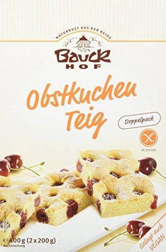 Bauckhof Obstkuchenteig glutenfrei, 6er Pack (6 x 400 g) - Bio