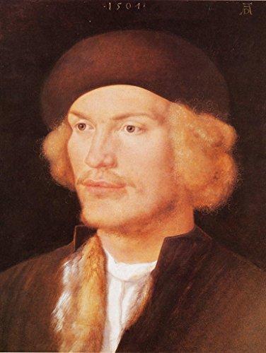Lais Alu-Dibond Albrecht Dürer - Porträt eines jungen Mannes 40x30 cm