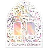 Amscan Set 8Einladungen für Kommunion Rosa Größe L